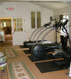 Fitness Area - The Potting Shed at Blantyre, Lenox, Massachusetts, USA - Photo by Luxury Experience